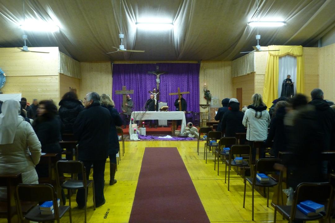 Venerdi 1 Marzo: la solenne via Crucis si conclude in Chiesa