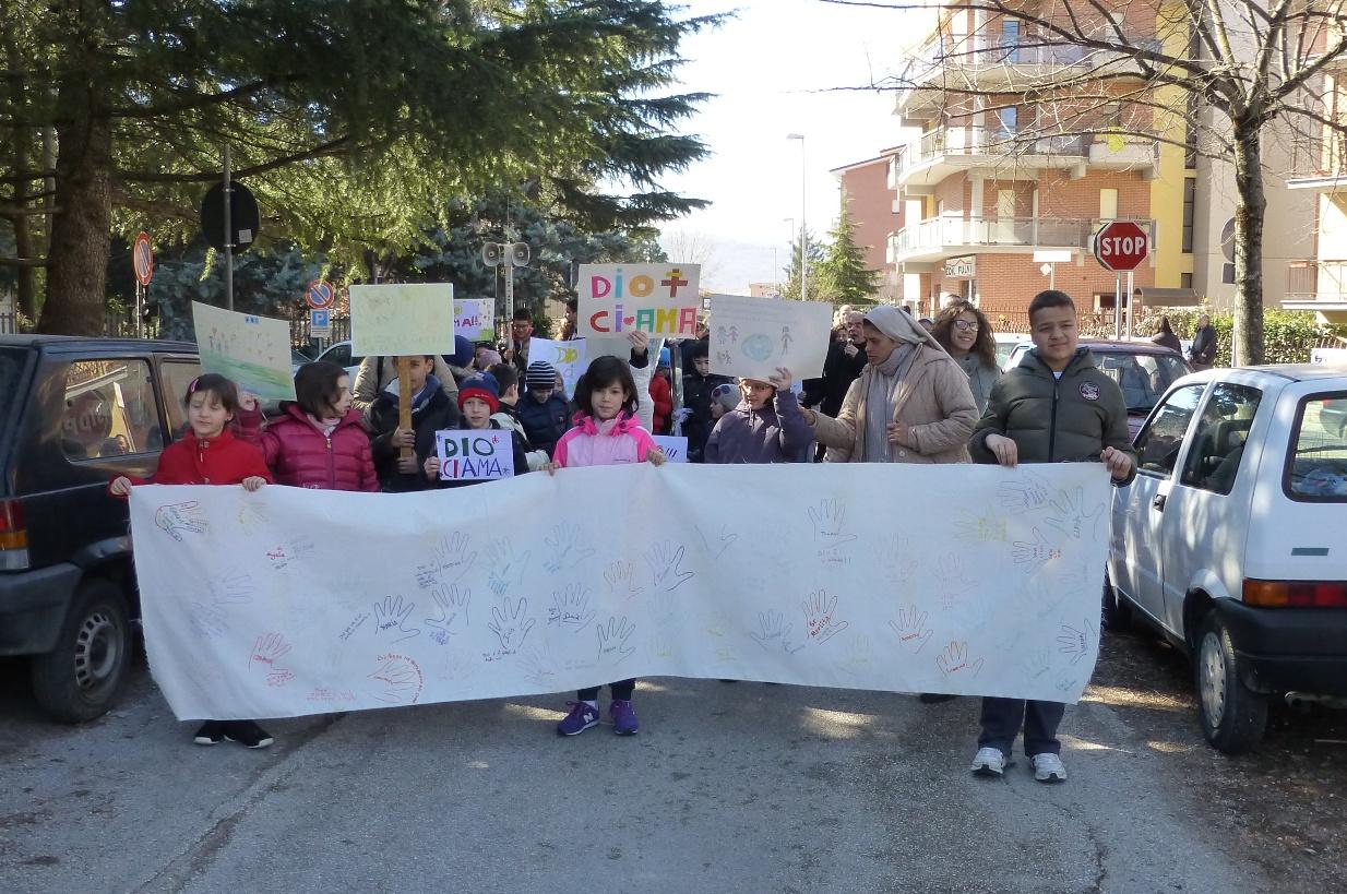 Domenica 2 Marzo: Marcia per bambini e genitori per inneggiare alla vita dono del Signore