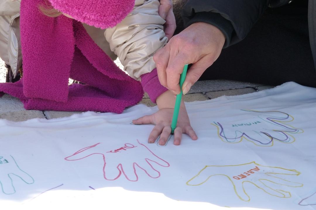 La mano: la firma di ogni bambino