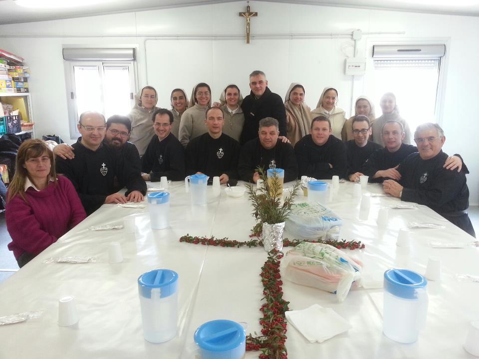 Foto di gruppo dei missionari