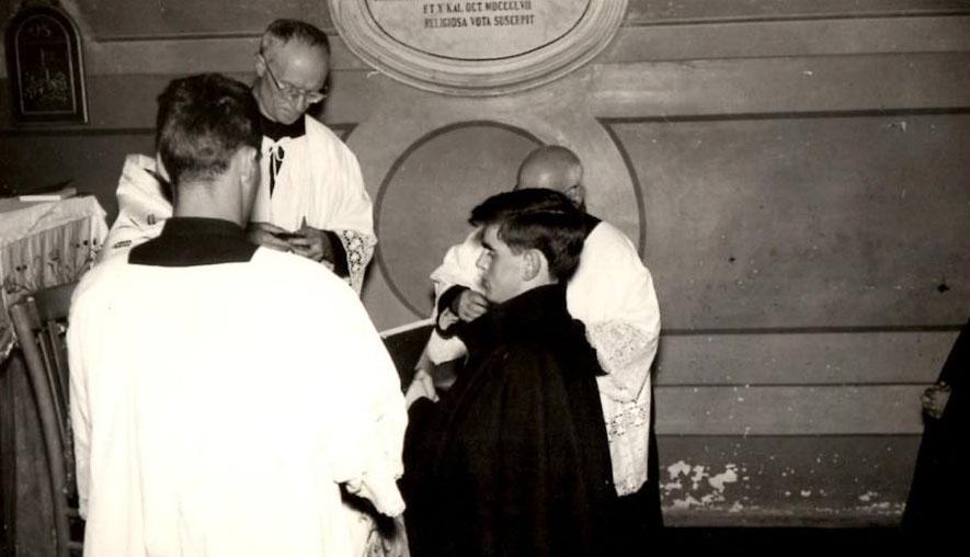 PADRE FRANCESCO, 50 ANNI DI VITA RELIGIOSA