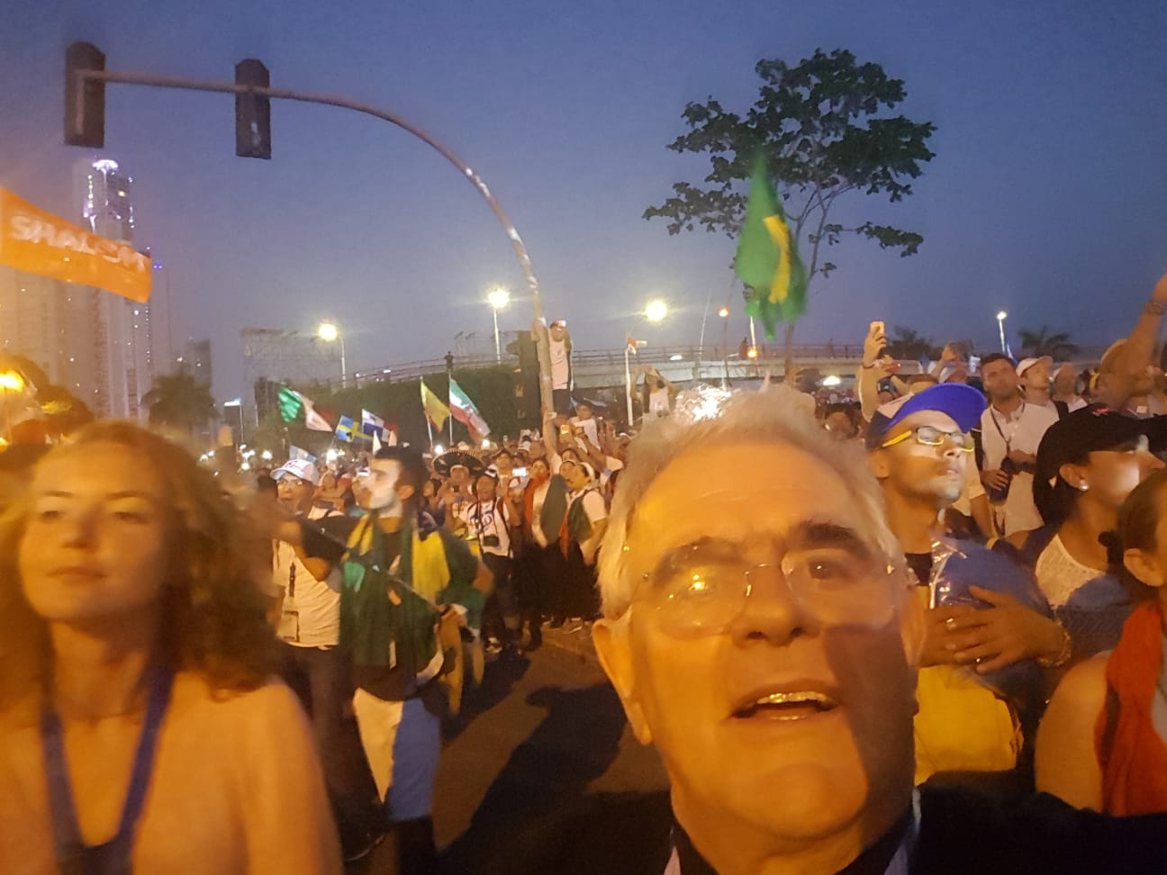Notizie dalla GMG di Panama – Incontro con Papa Francesco