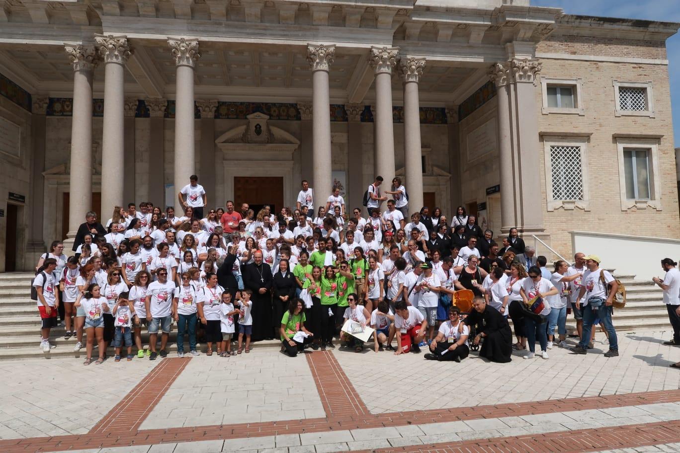 Questa mattina la solenne celebrazione eucaristica di chiusura della 39esima Tendopoli presieduta  dal Cardinale Giuseppe Petrocchi
