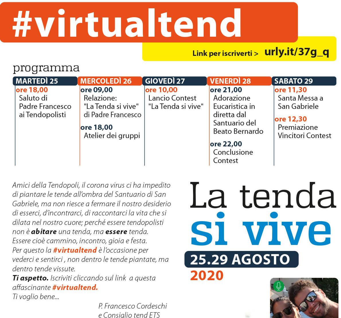 Presentata Oggi la: #VirtualTend
